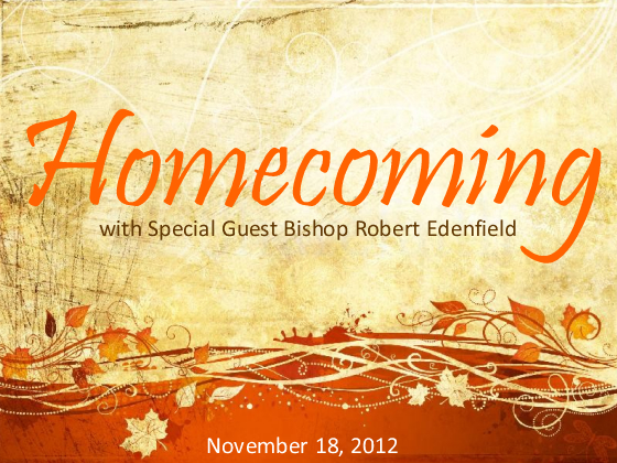 ... church of god will celebrate homecoming 2012 over the years homecoming