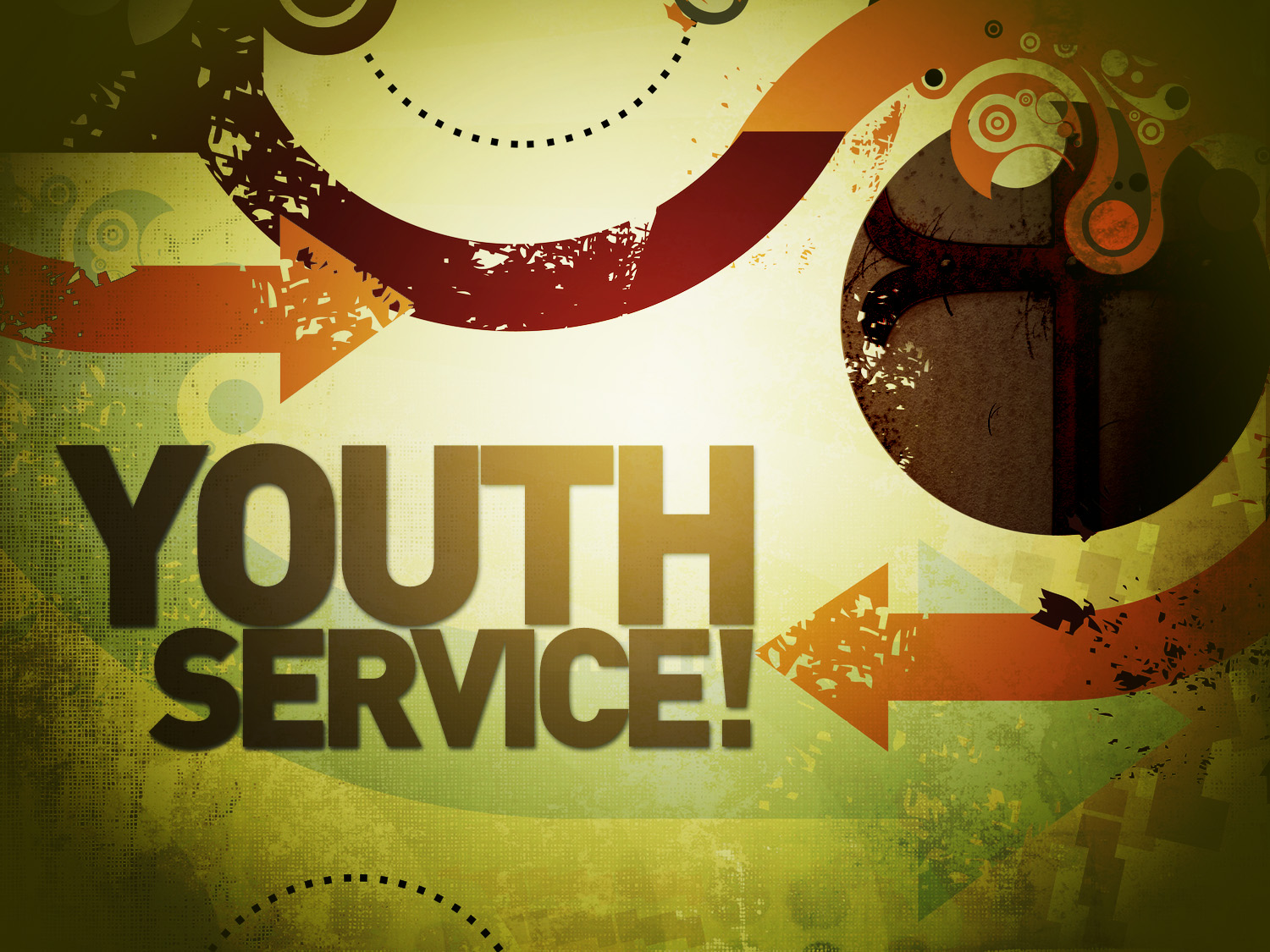 Youth service this sunday evening at 6 00 pm the service will include